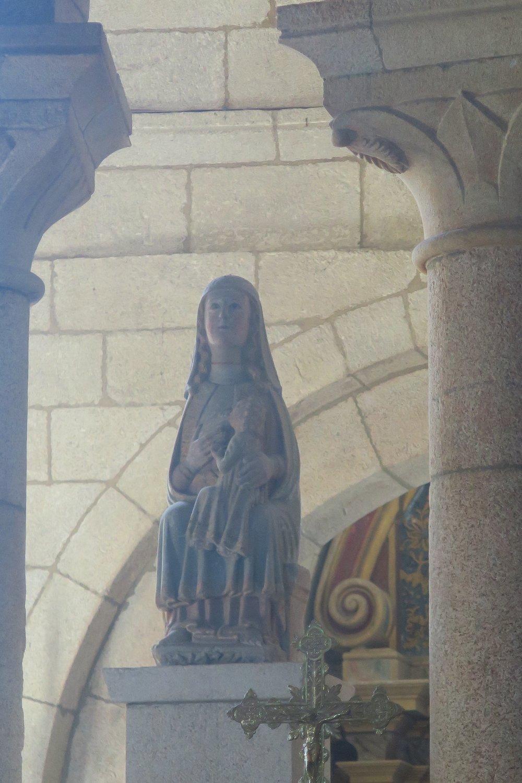 Virgen de la leche, Oseira