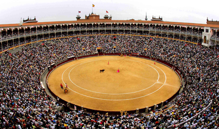 Las Ventas in Madrid.
