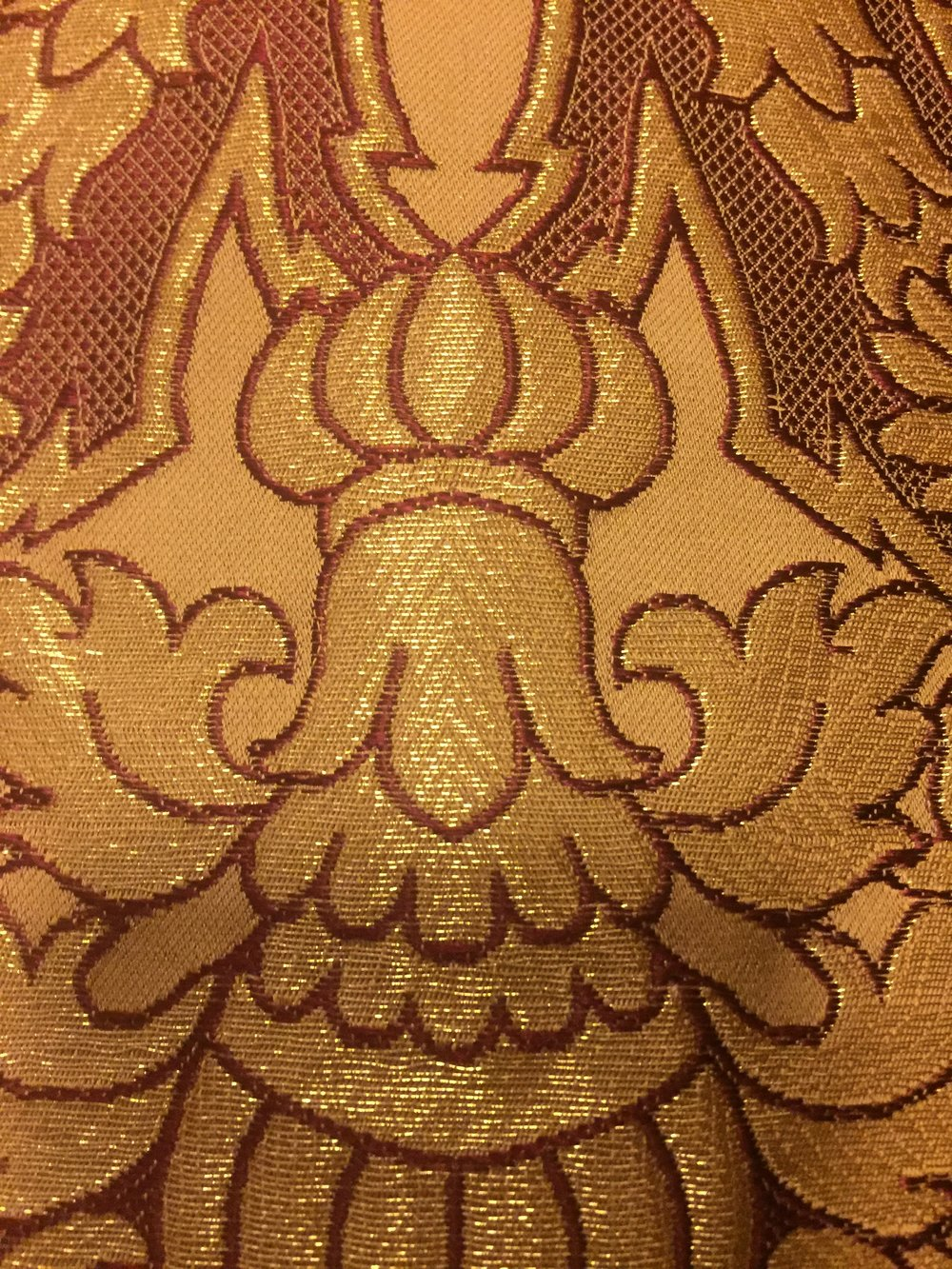 Cloth of gold from the Easter vestments at Saint Mark's