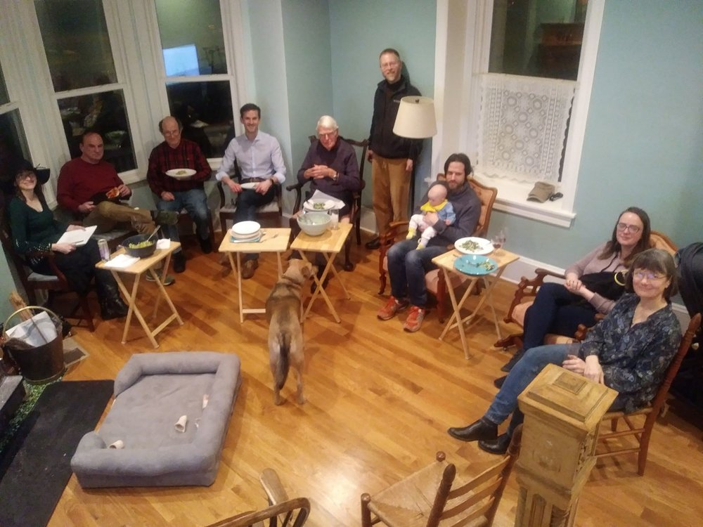 Group photo from our Kickoff Gathering in March 2019