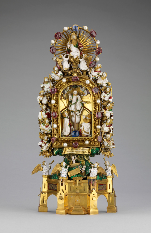 The Holy Thorn Reliquary at the British Museum