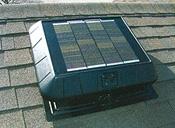 11-watt thin-film solar panel moves up to 850 CFM