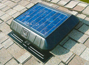 15-watt solar panel moves up to 1050 CFM