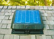 20-watt solar panel moves up to 1250 CFM