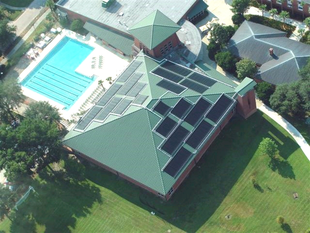 Click here to see more photos of solar pool heating