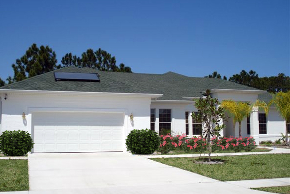 Photo Of A Home With Solar Power - Solar-Fit