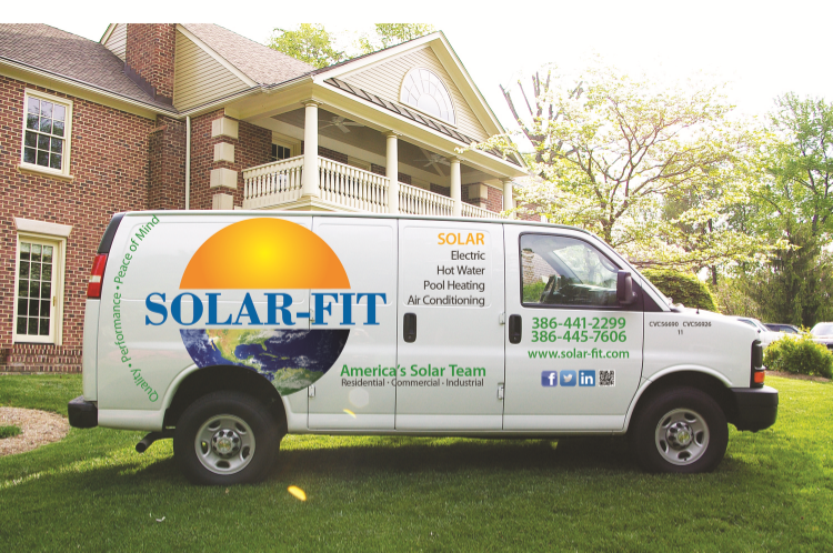 Expert Solar Panel Installation Photo For Houses & Pools In Ormond Beach, FL - Solar-Fit