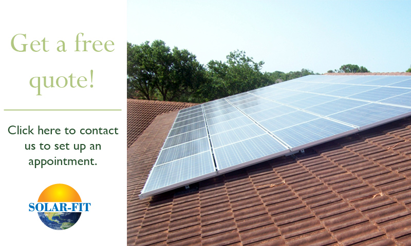 Solar quote installation