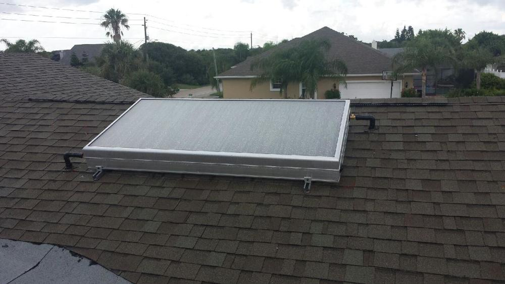 Installation in Ormond Beach this week