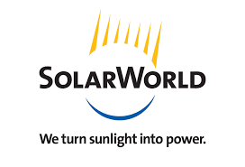 Image Of SolarWorld Solar Power Logo - Solar-Fit