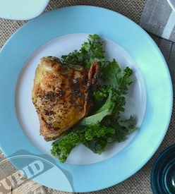 Crispy Italian Chicken Thighs from Stupid Easy Paleo