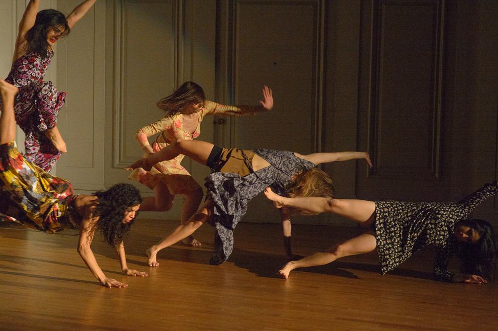 Nadine Malouf, Kristin Yancy, Emily Palmquist, Skye Van Rensselaer, Caitlin Cassidy- Photo: John Deamara