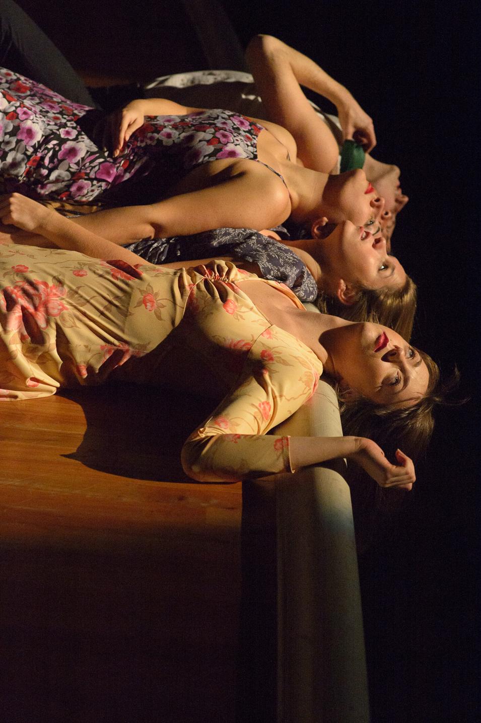 Emily Palmquist, Skye Van Rensselaer, Nadine Malouf, Clinton Edward- Photo: John Deamara