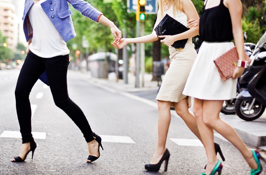 Ladies Waling Across Street Purchased.jpg