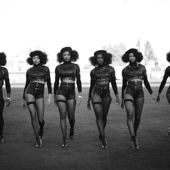 Beyonce Black Garter Formation