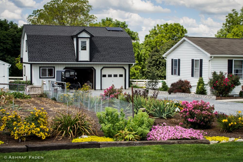 An Amish House