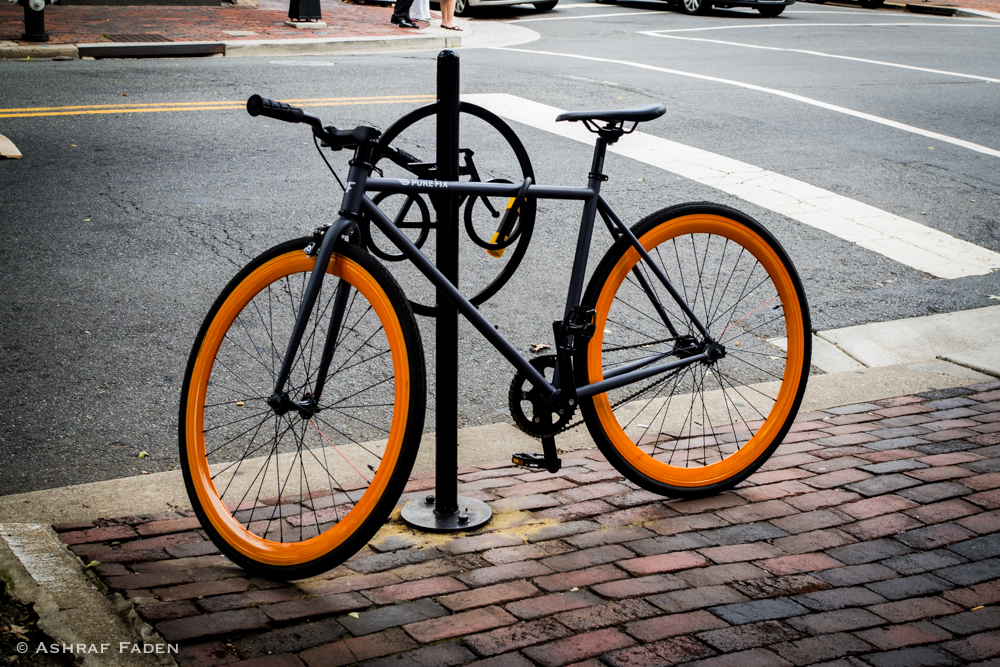Cool bike - Old Town Alexandria