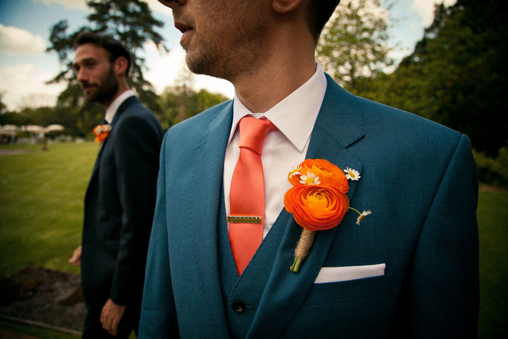 The groom - photographed by Dylan Nolte