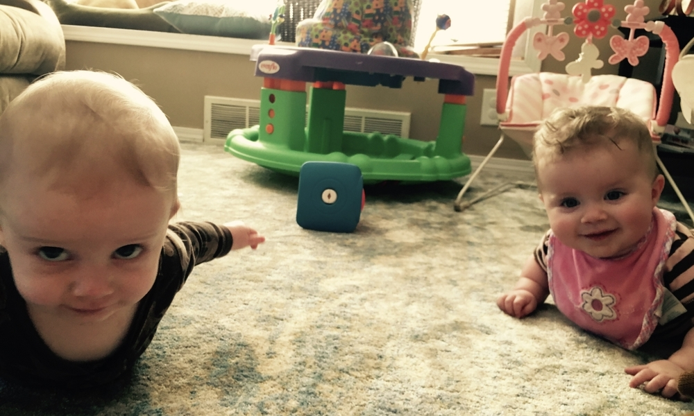 Twins on the cusp of crawling.jpg
