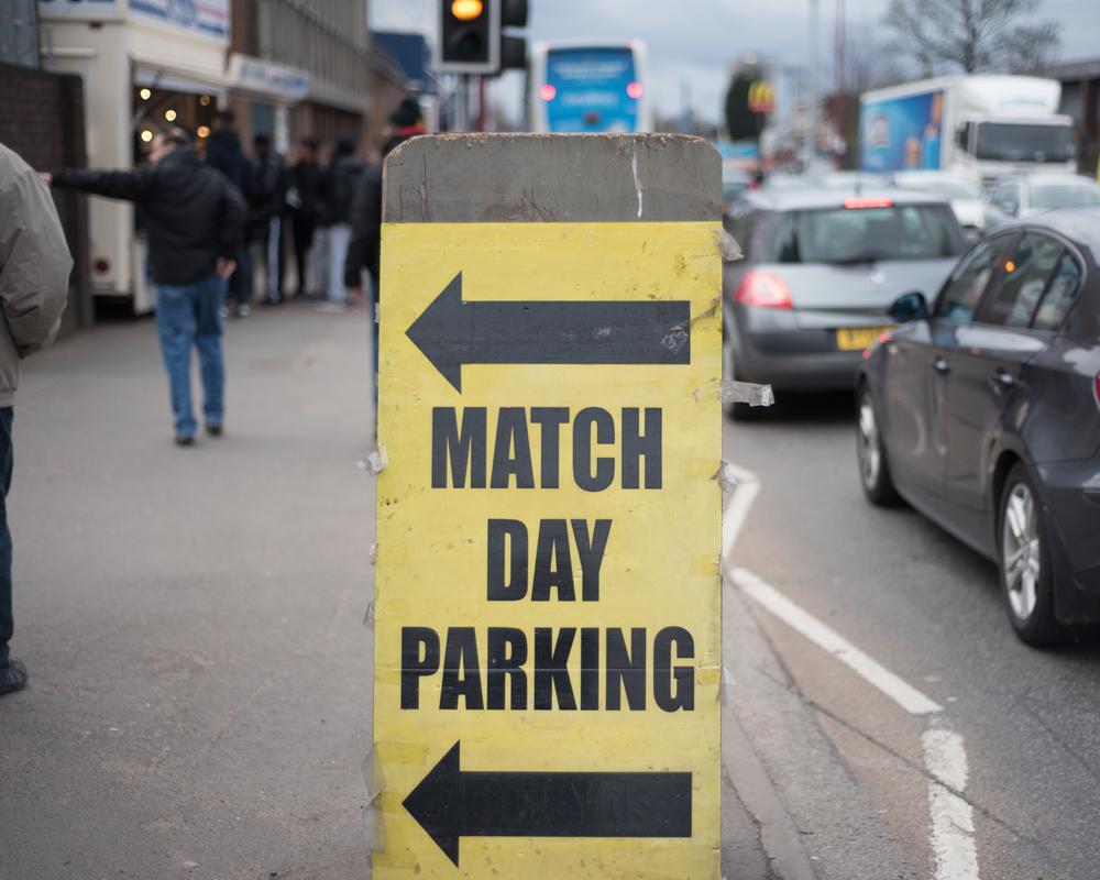 ⬅︎  Match Day Parking  ⬅