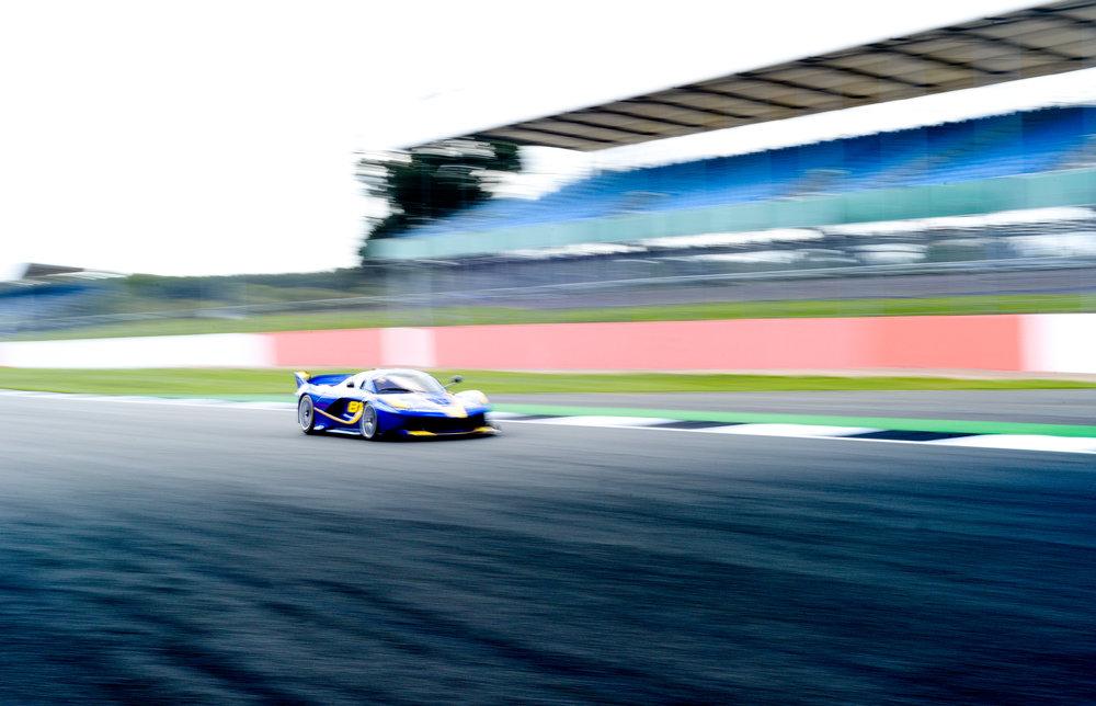 Ferrari FXXK Silverstone England