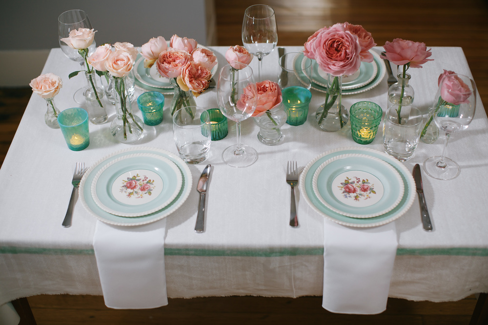 Romantic Spring Wedding Inspiration by Blue Jar Events