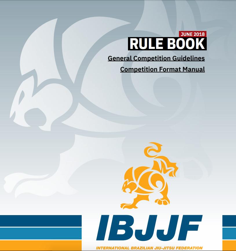 IBJJF 2018 Rule Book