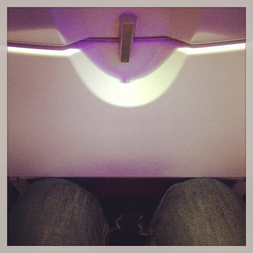 Cramped seats of modern flying