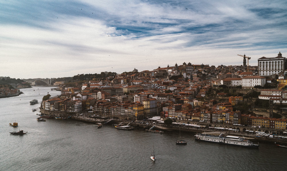 Porto is a World Heritage Site, and the downtown areas are incredible to walk around in.