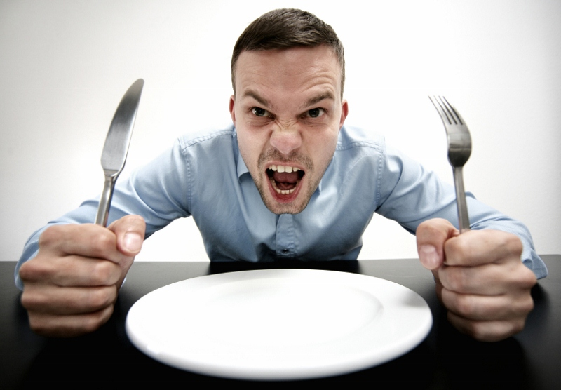 This guy MIGHT have overdone it with the calorie-restriction...