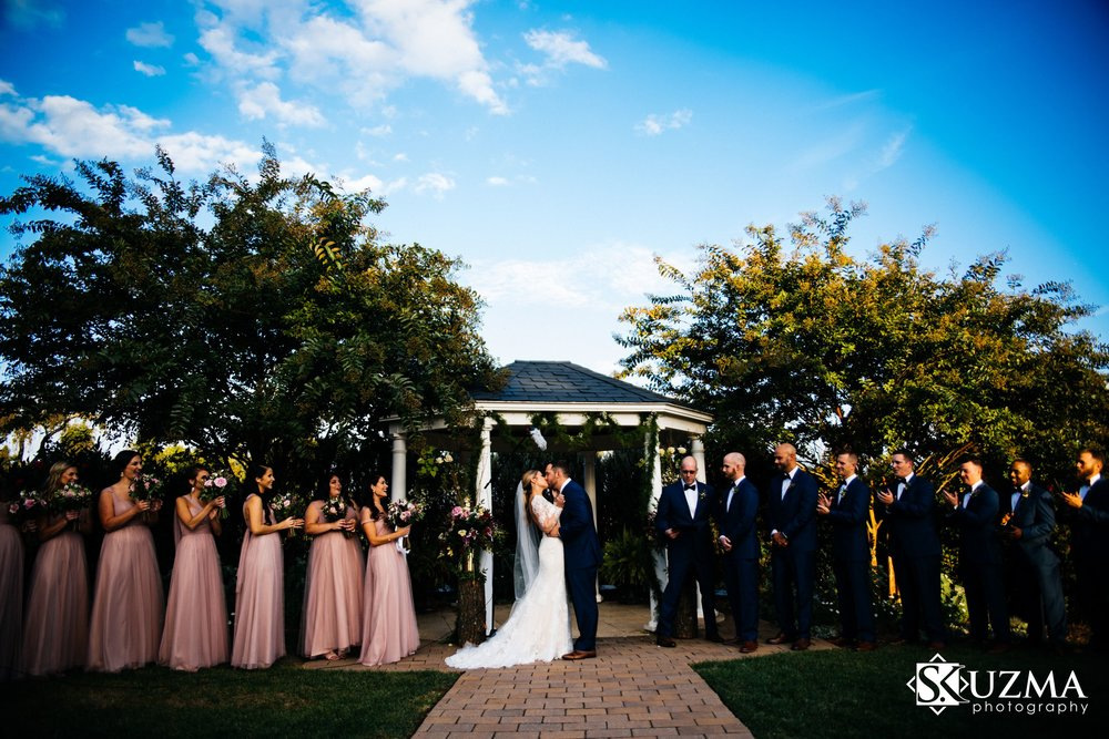 <p><strong>Lauren + James</strong></br>Penn Oaks Golf Club</br><a href=/laurenjameswedding>View →</a></p>