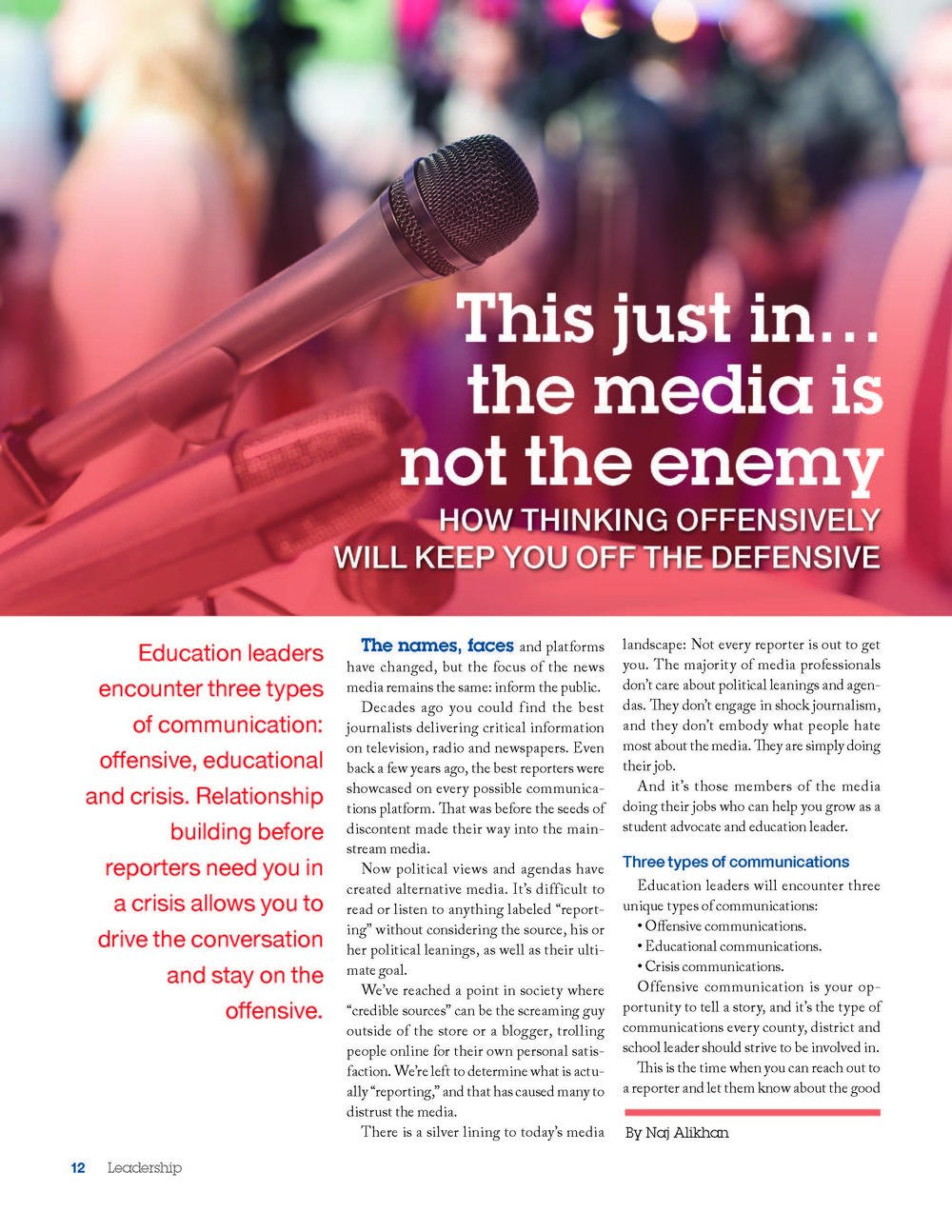 Leadership Magazine-volume 46; page one of three