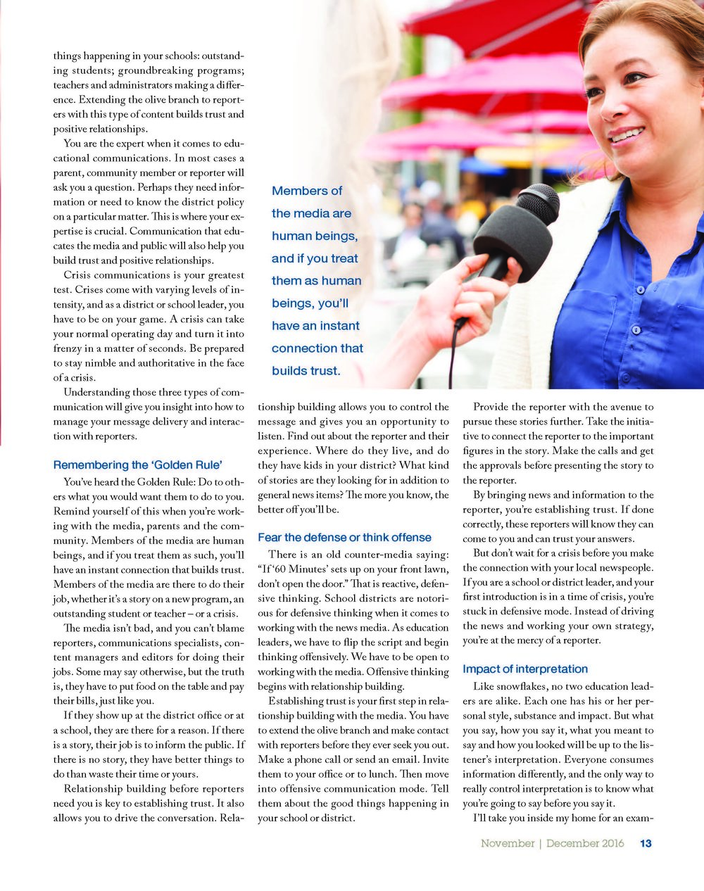 leadership magazine-volume 46; page two of three