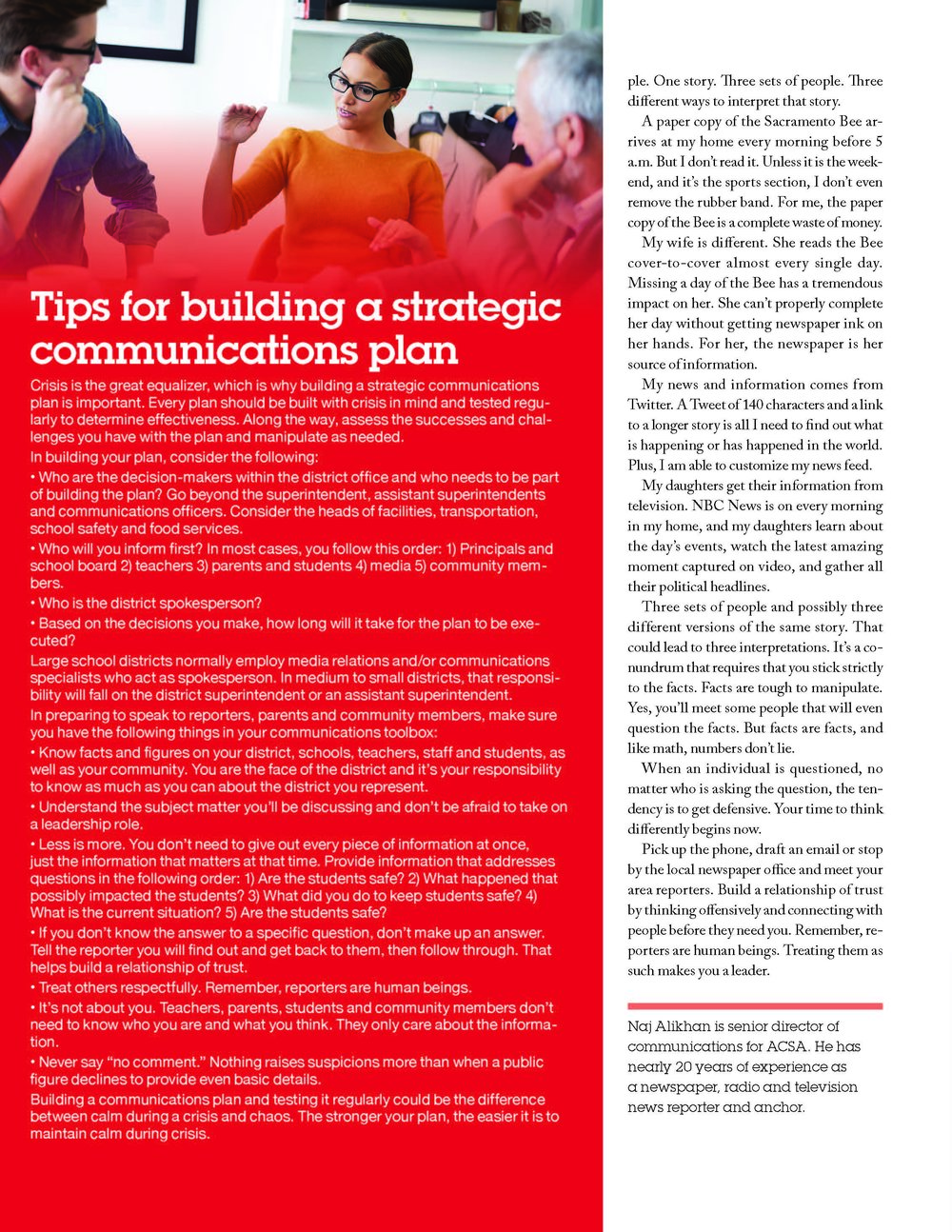 leadership magazine-volume 46; page three of three