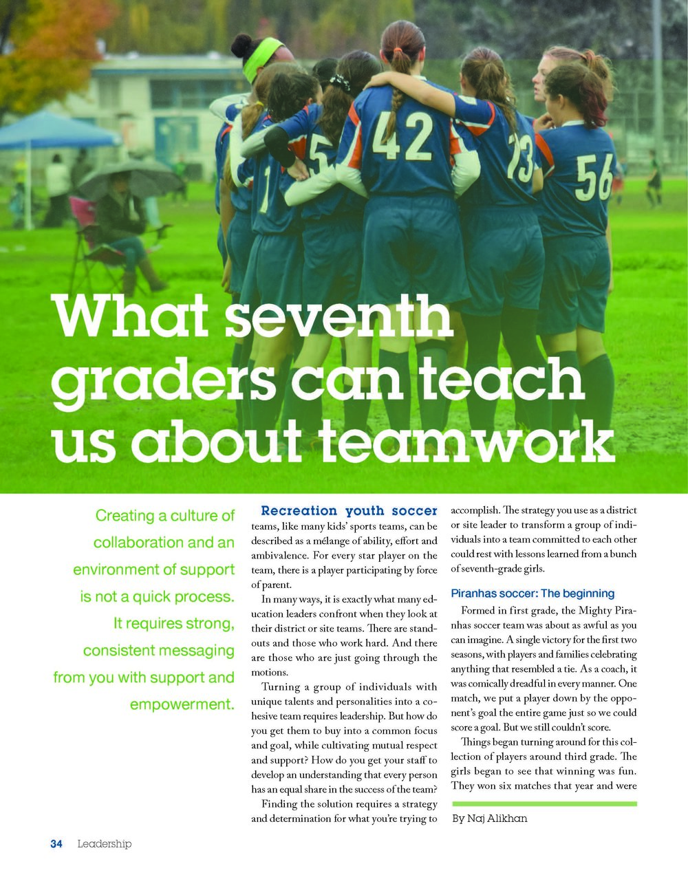Leadership magazine-volume 47; page one of three