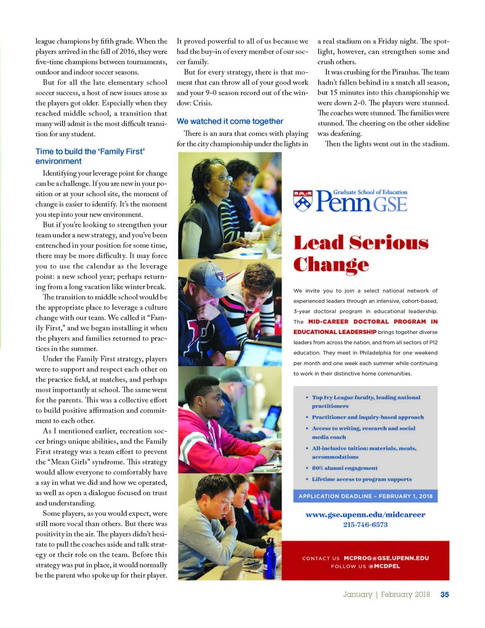 leadership magazine-volume 47; page two of three