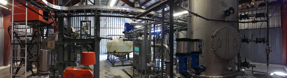 Pellet washing and drying equipment - June 2015