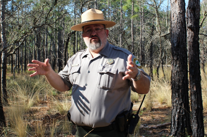 Carolina Beach State Park Superintendent Chris Helms