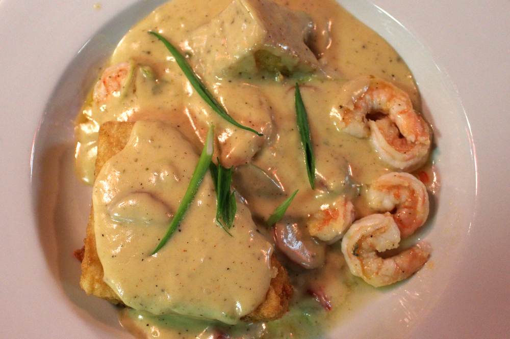 Shrimp and Grits - Page's Okra Grill in Mount Pleasant.jpg