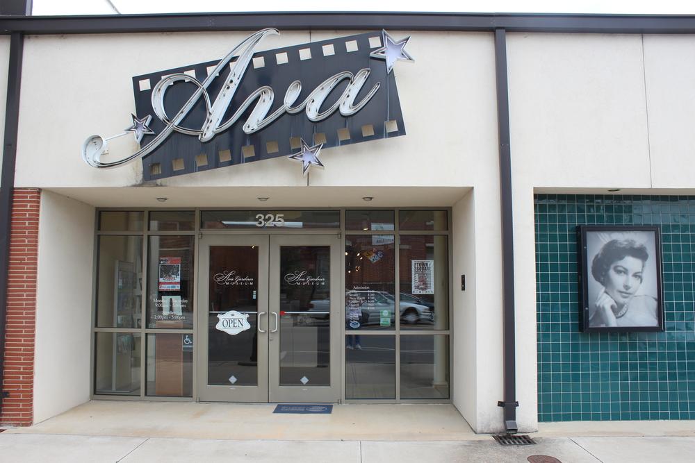 Ava Gardner Museum at 325 E. Market St. in Smithfield, NC