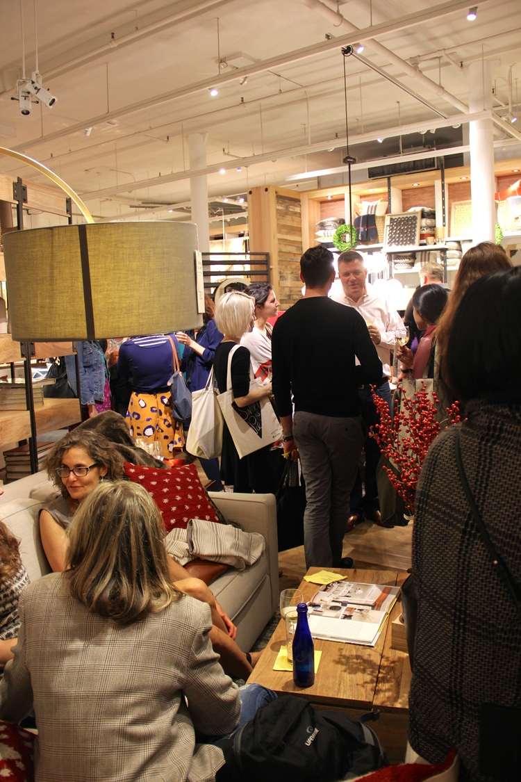 Book Signing at West Elm