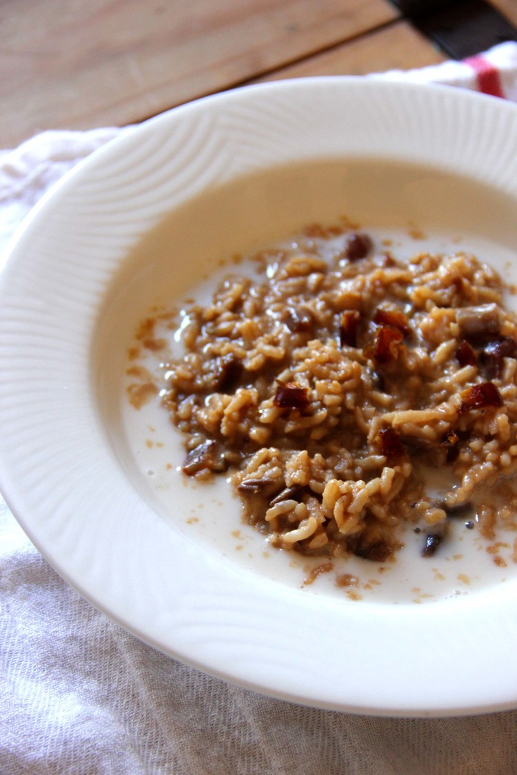 Warm Chai Rice Oatmeal