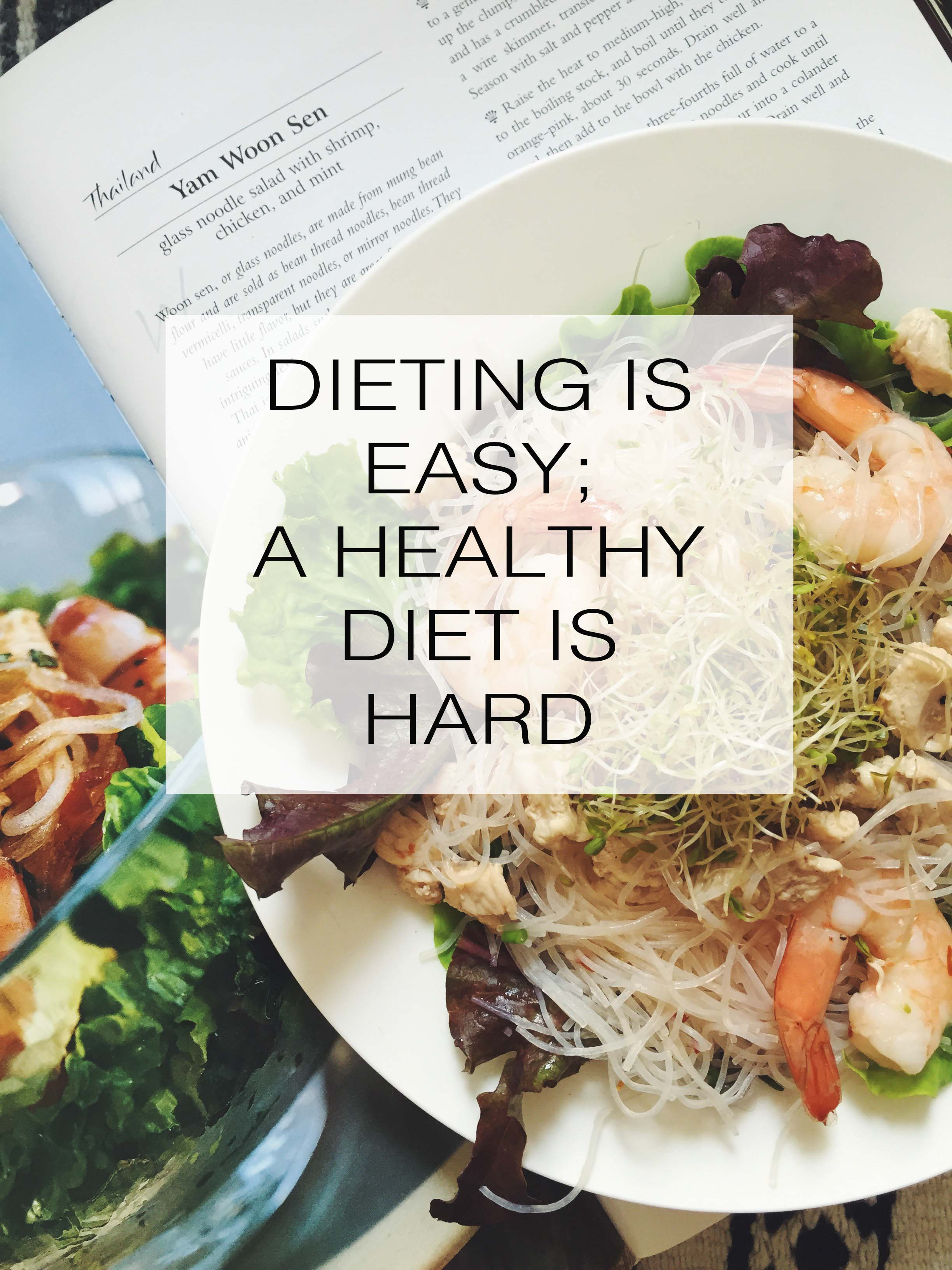 Fit Fridays: Dieting Is Easy- A Healthy Diet Is Hard
