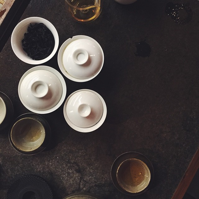 Day 81 of #100HappyDays...a tea afternoon makes for a very enlightening day.