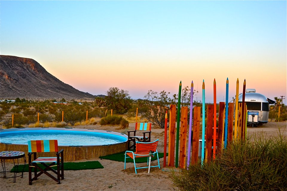 Kate's Lazy Desert, Joshua Tree, California