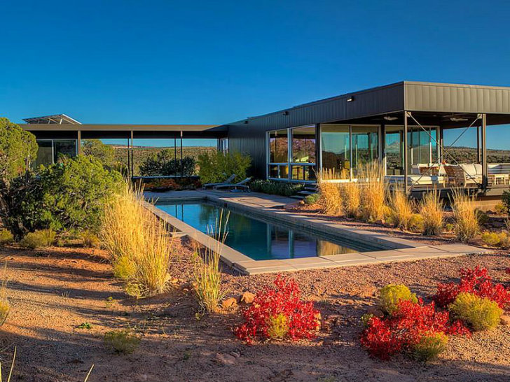 Prefab Home in Moab, Utah (Photo Copyright Sotheby's)