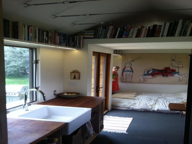 Thoughtfully Built-In Bookshelves