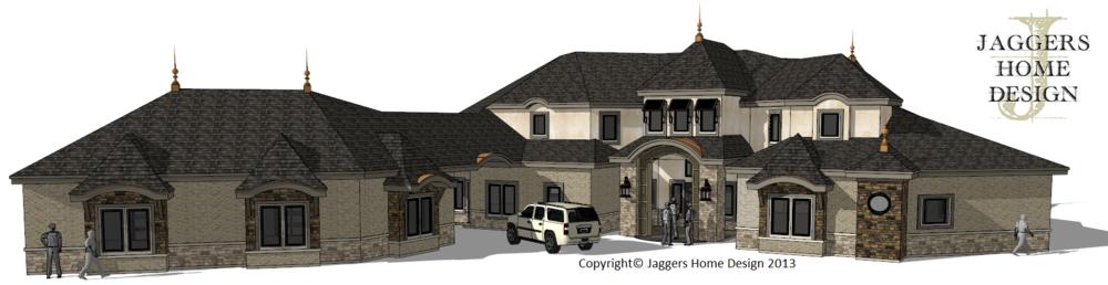Rose Creek Residence - Current Status: Design Phase 3
