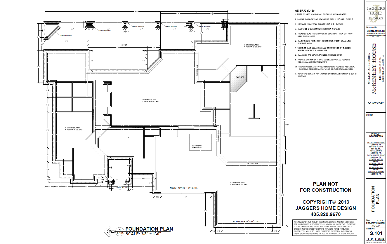 Sample Plan — Jaggers Home Design