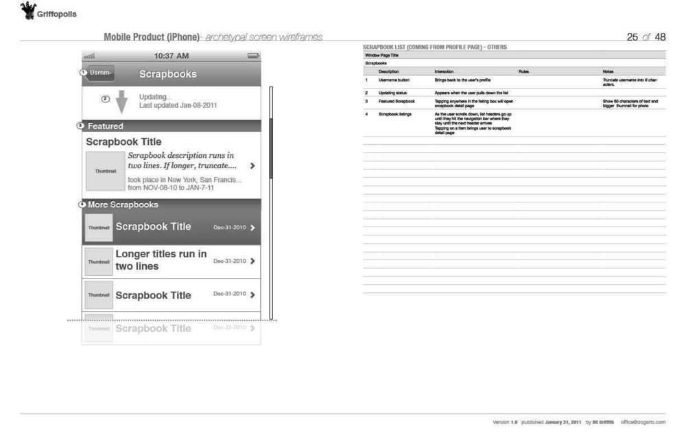 Mobile Storybook App